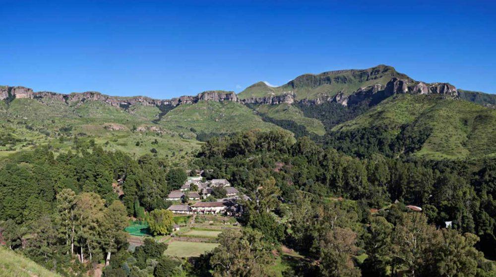 Vue aérienne de The Cavern