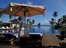 La piscine de l'hôtel The Residence à Zanzibar