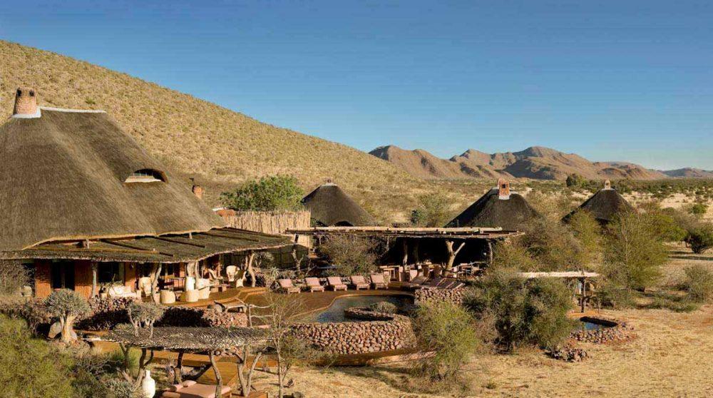 Vue générale de Tswalu dans le Kalahari en Afrique du Sud