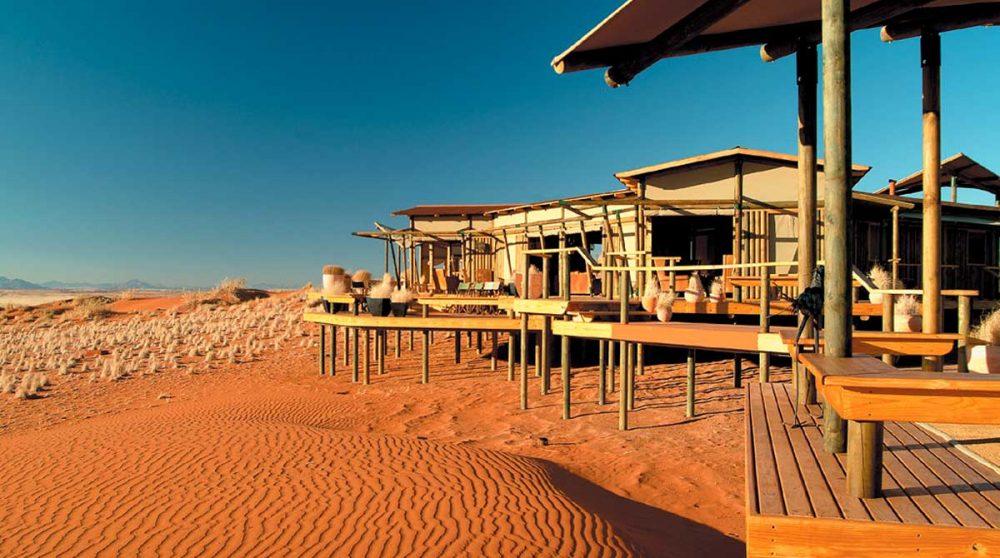 Bienvenue au Wolwedans Dunes Lodge à Namib