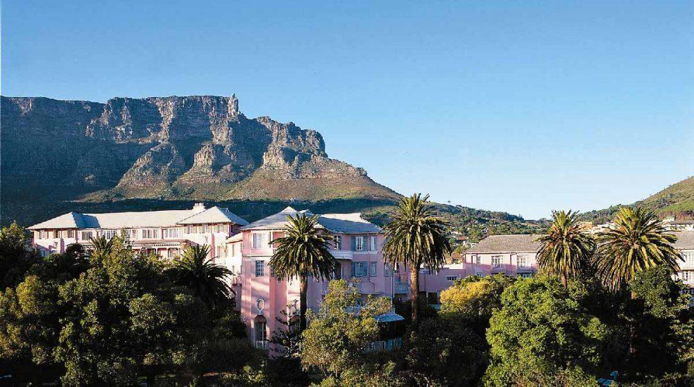 Vue de l'hôtel en Afrique du Sud