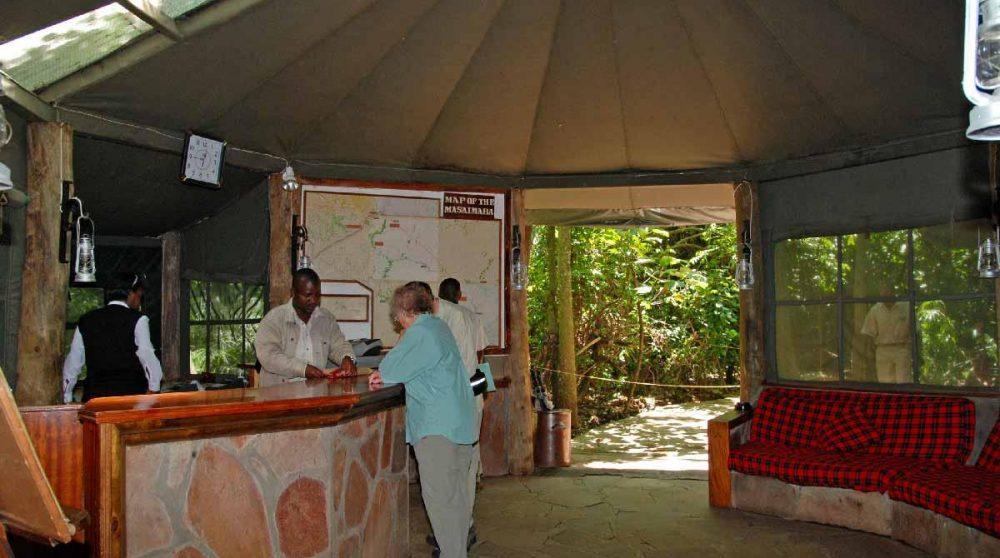 La réception au Kenya