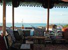 Vue sur la terrasse à Zanzibar