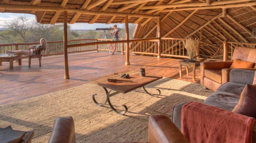 Le salon en Tanzanie
