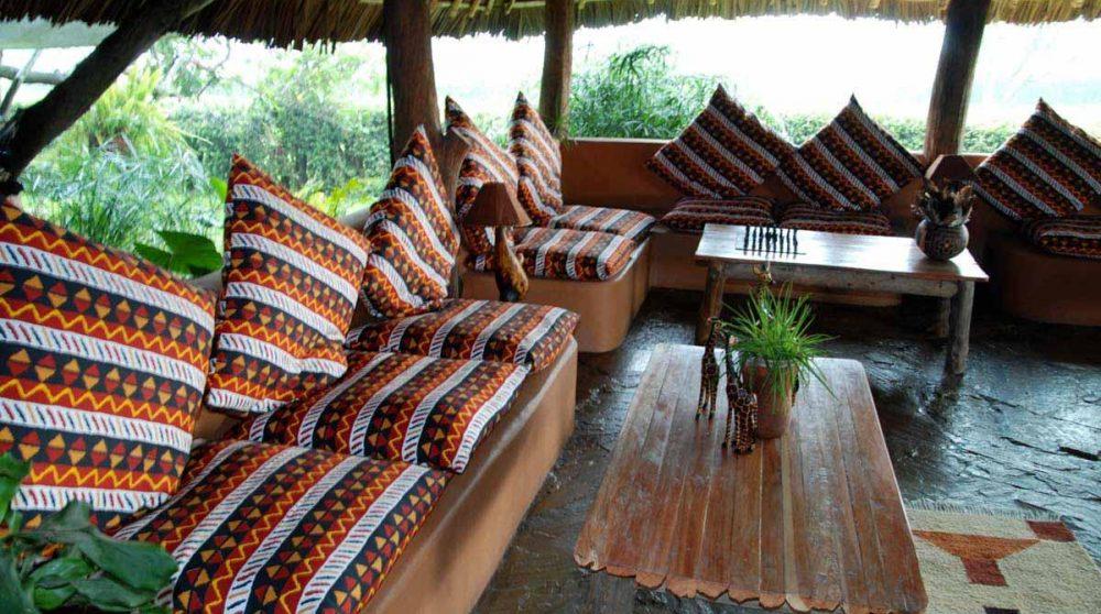 Le salon au Kenya