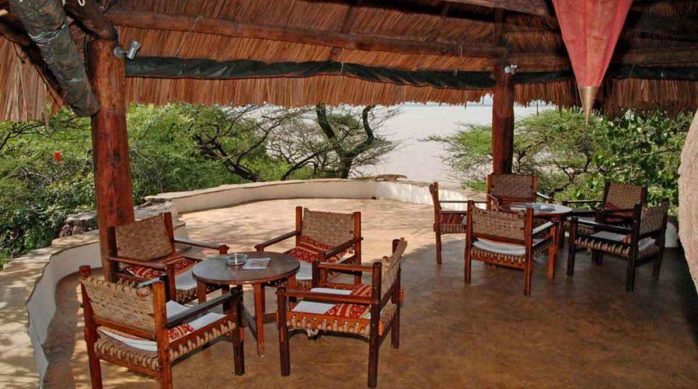 La terrasse au Kenya