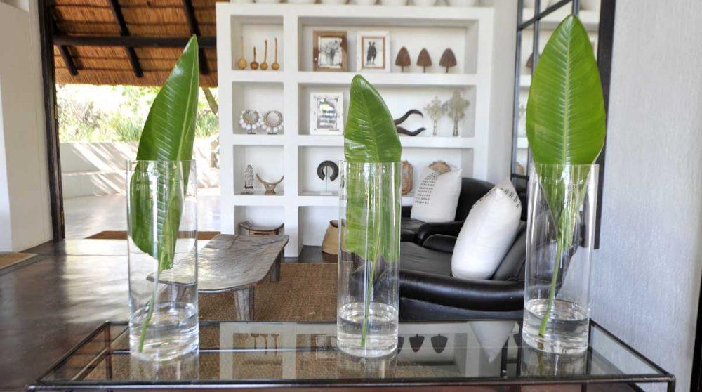 Décoration du salon près du parc Kruger