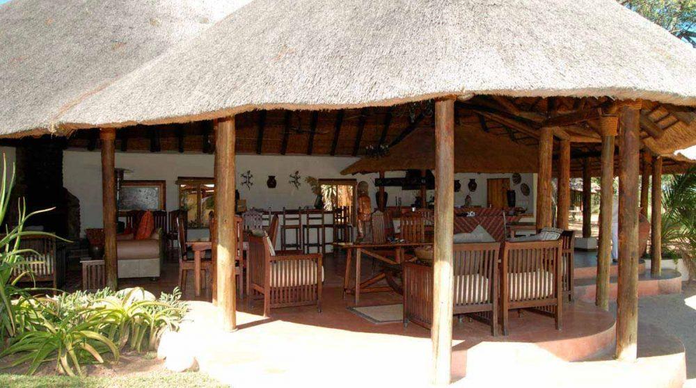 Vue d'ensemble de la terrasse en Afrique du Sud