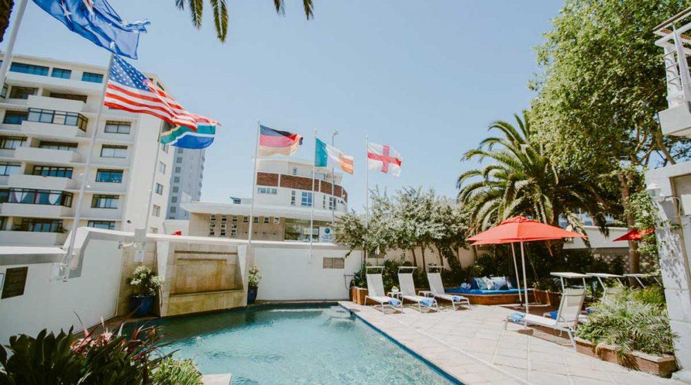 La piscine à Cape Town