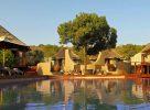 La piscine du camp en Afrique du Sud