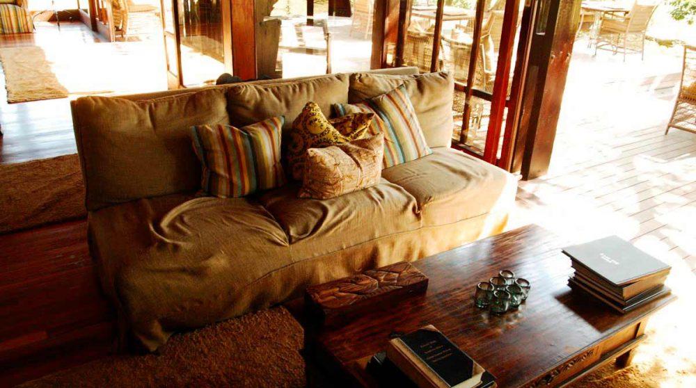 Le salon en Afrique du Sud