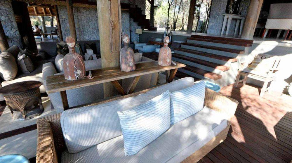 Décoration dans le salon en Afrique du Sud