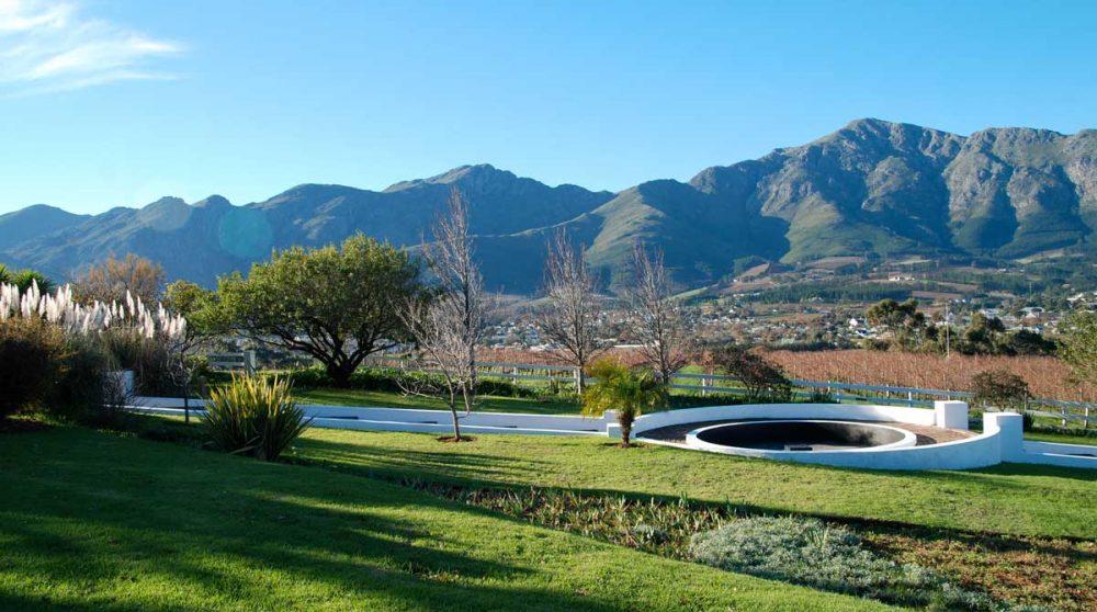 Le jardin en Afrique du Sud