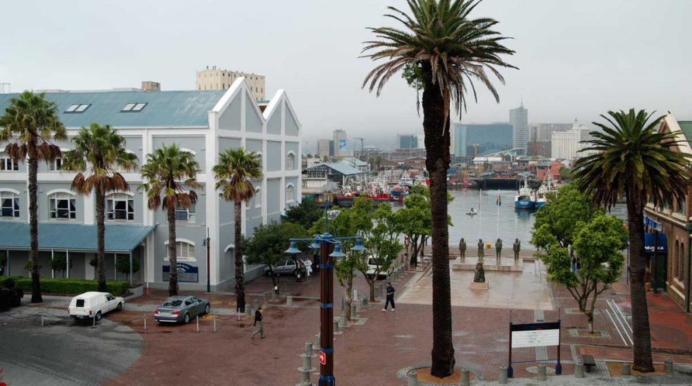 L'hôtel dans la ville en Afrique du Sud