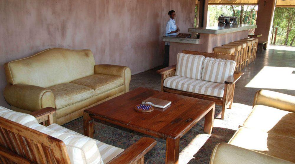 Un salon au parc Kruger