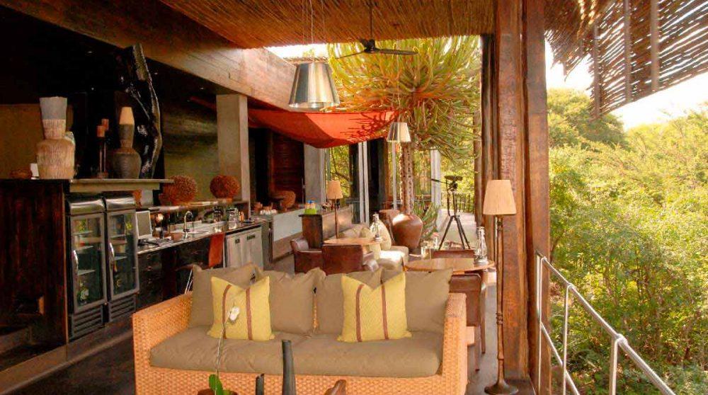 Le salon au parc Kruger