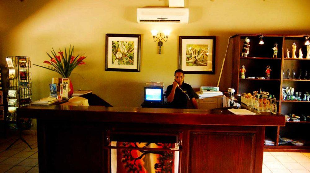 Bienvenue à l'hôtel en Afrique du Sud
