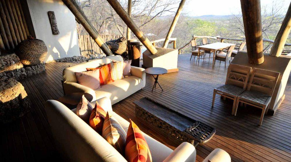 Le salon en Namibie