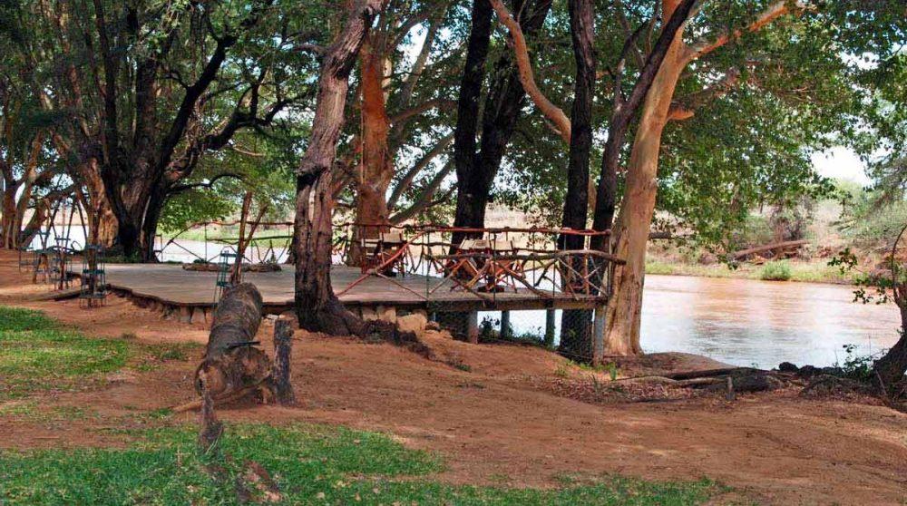 Le lac au Kenya