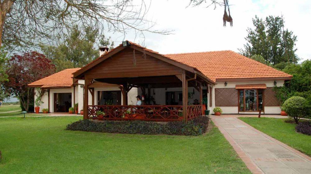 L'entrée de l'hôtel au Kenya