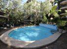 La piscine de l'hôtel au Kenya