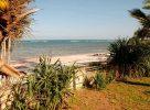La plage au Kenya