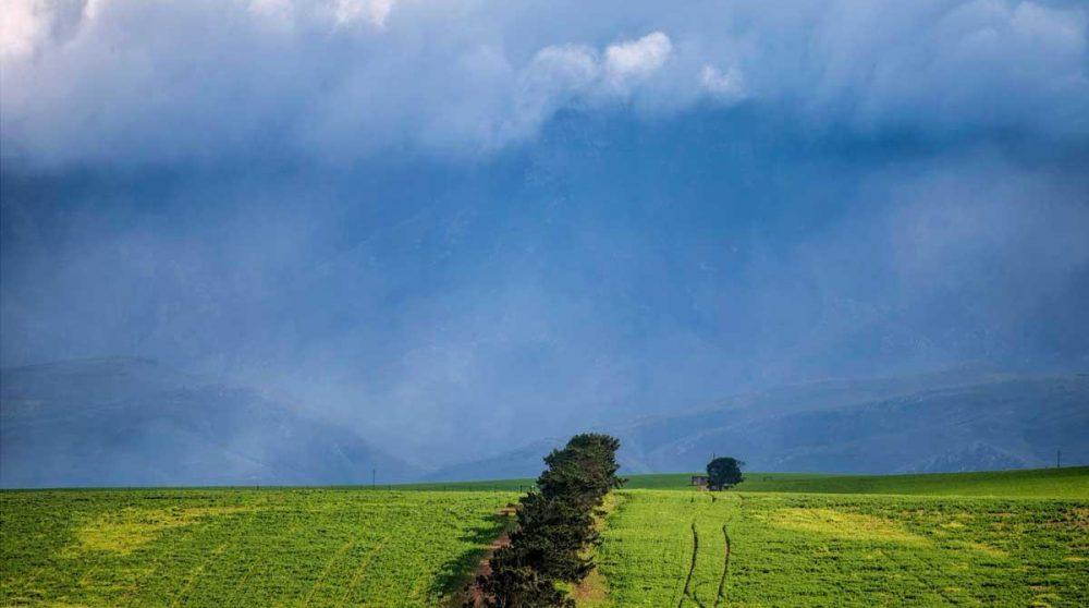 L'orage arrive sur le Drakensberg