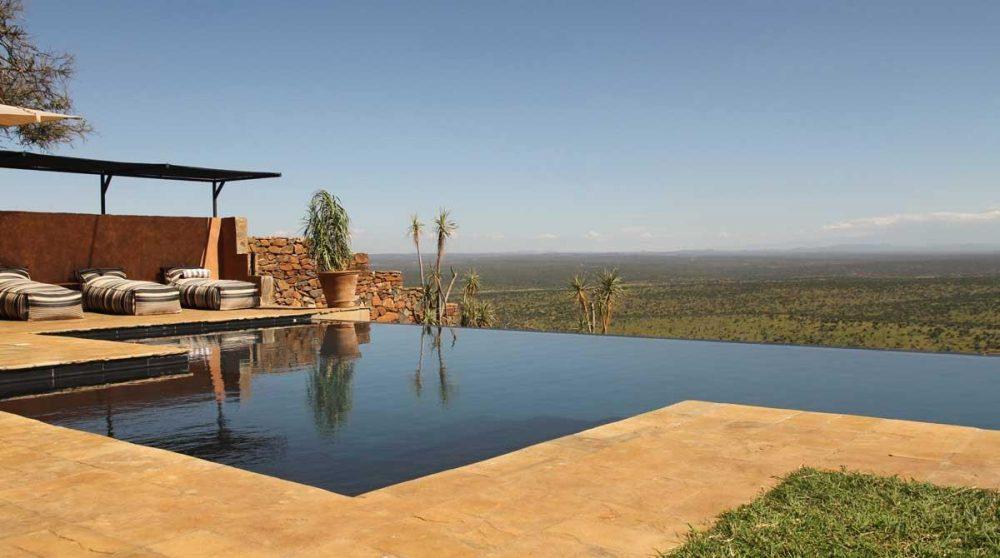 La piscine à Loisaba