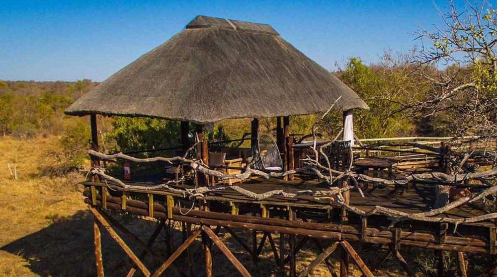 Le salon d'observation près du parc Kruger