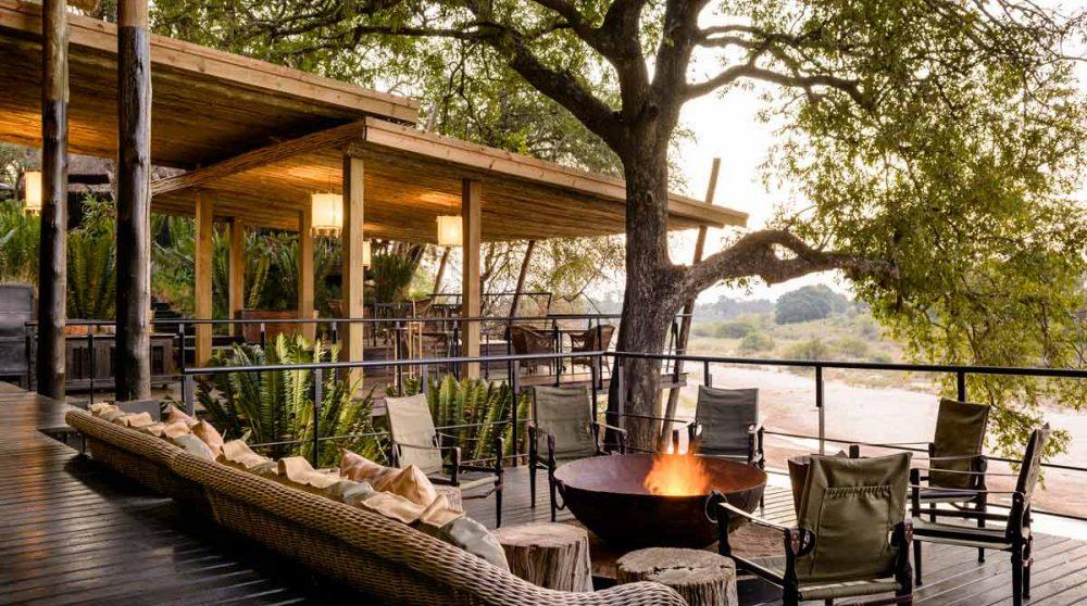 Les terrasses en Afrique du Sud