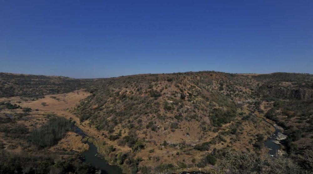 Ciel bleu sur la réserve