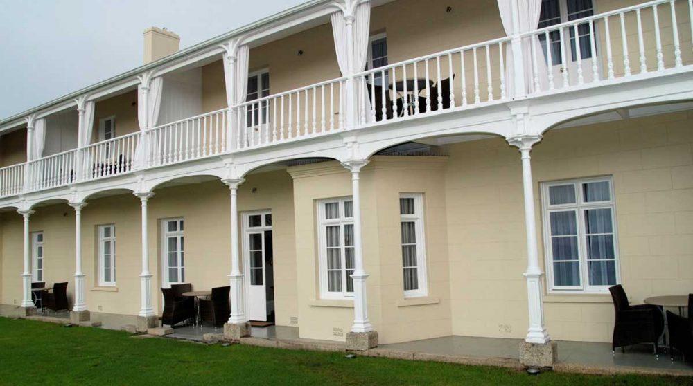Balcons et terrasses des chambres