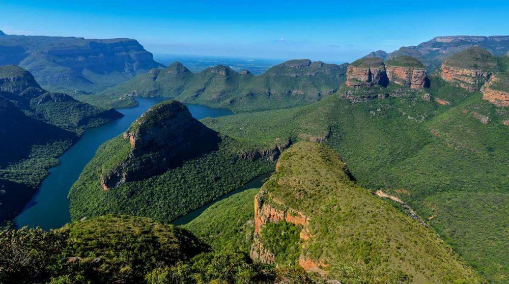 Le canyon de la rivière Blyde dans le Mpumalanga