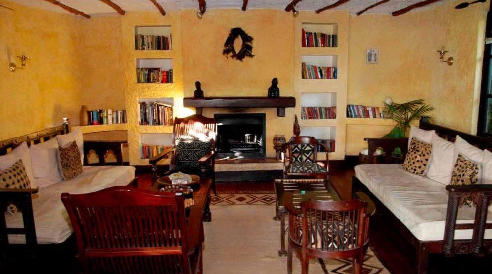 La biblitohèque dans le Masai Mara