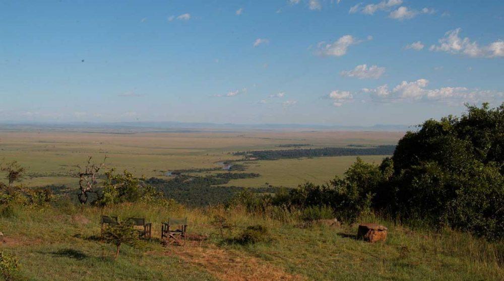Vue sur la nature dans le Masai Mara
