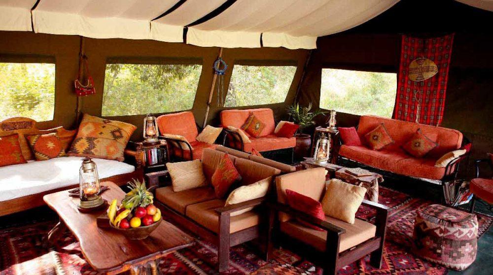 Un autre salon dans le Masai Mara