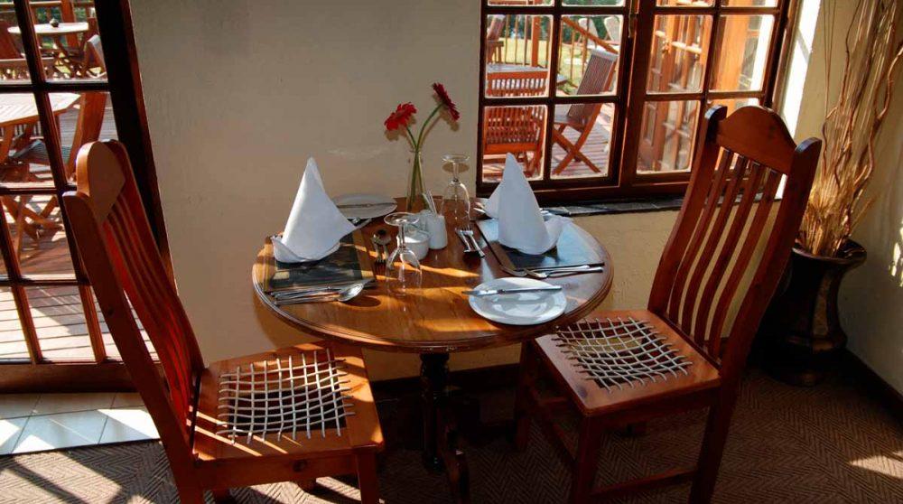 Une autre table à Mpumalanga