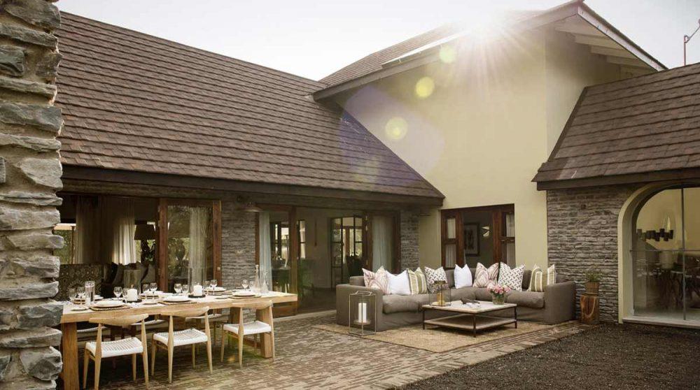 La terrasse à Arusha