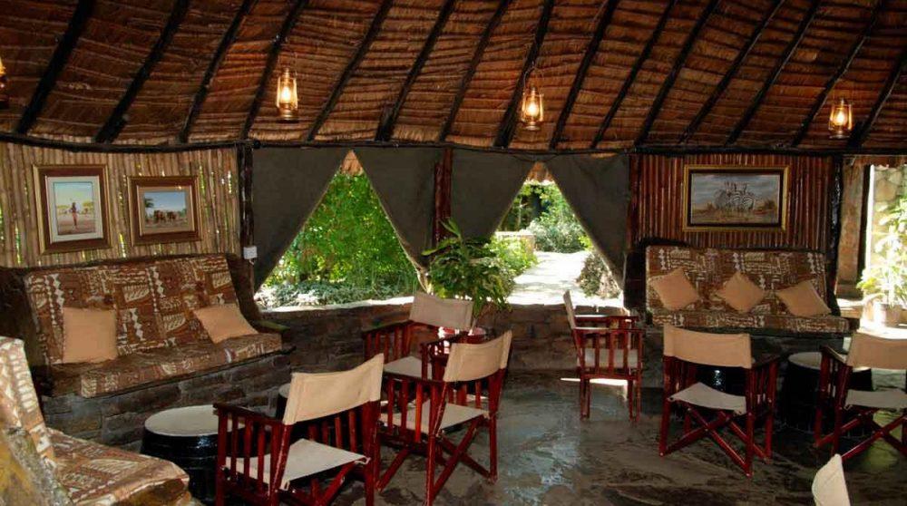 Un salon dans le Masai Mara