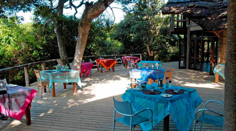 La terrasse à Mabibi