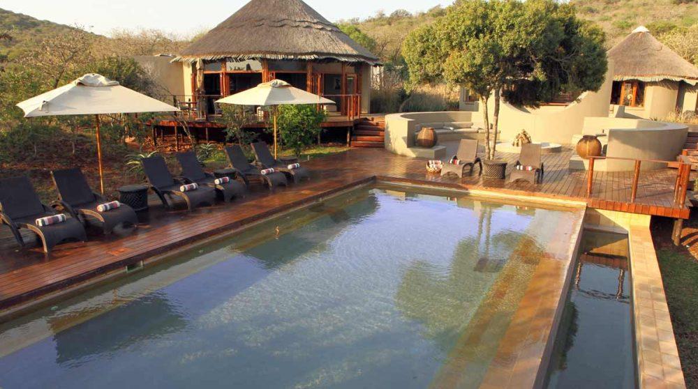 La piscine dans le Kwazulu Natal