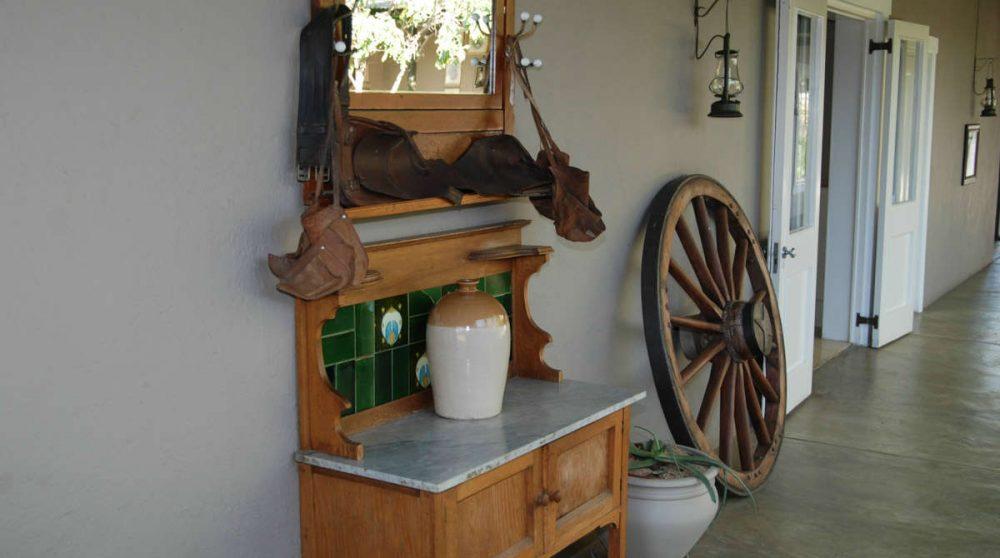 La décoration à l'extérieur en Afrique du Sud