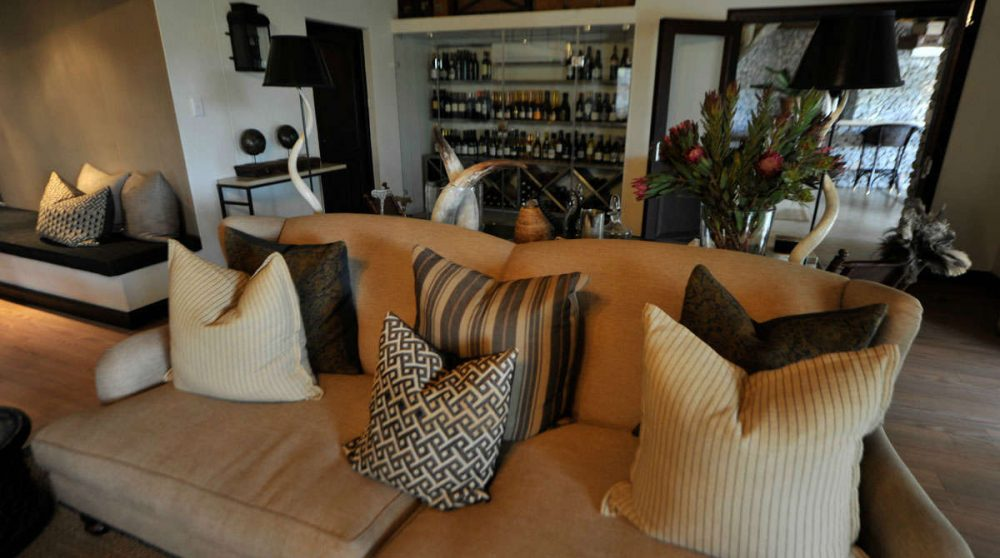 Le canapé à Londolozi