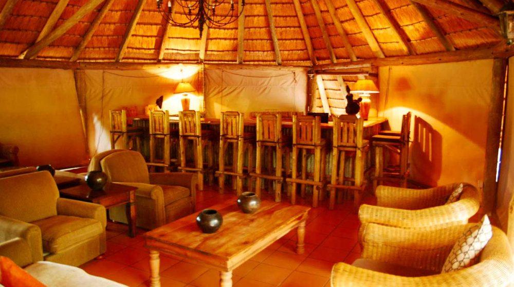 Autre vue du salon dans le Kwazulu Natal
