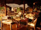La terrasse au Meru National Park