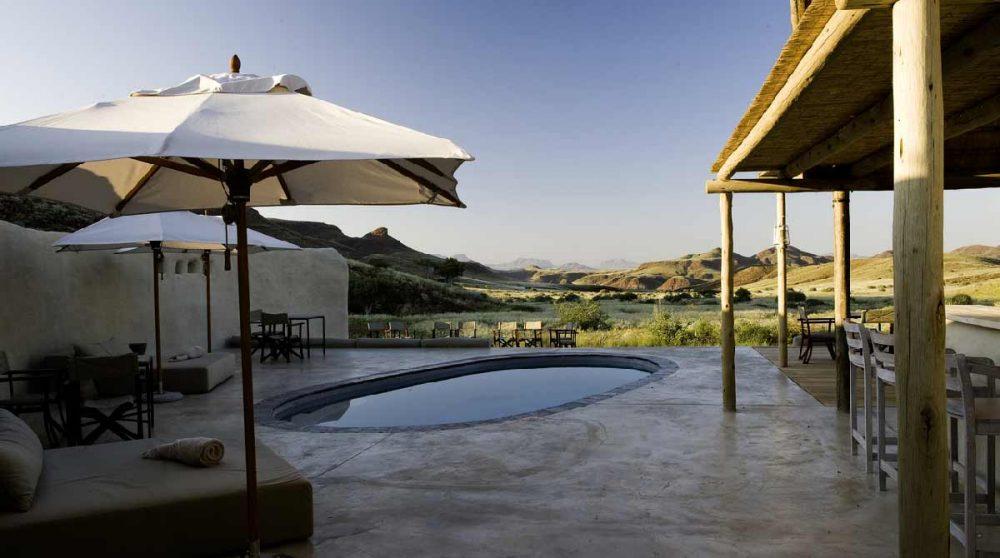 La piscine dans le Damaraland