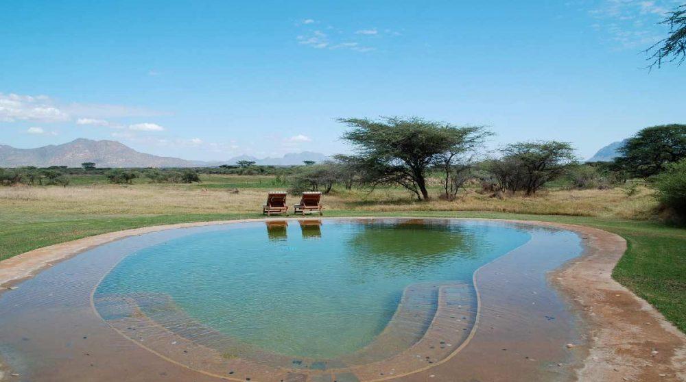 La grande piscine à Shaba