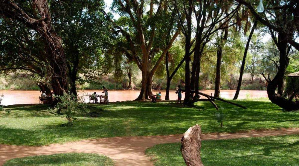 Le jardin à Samburu