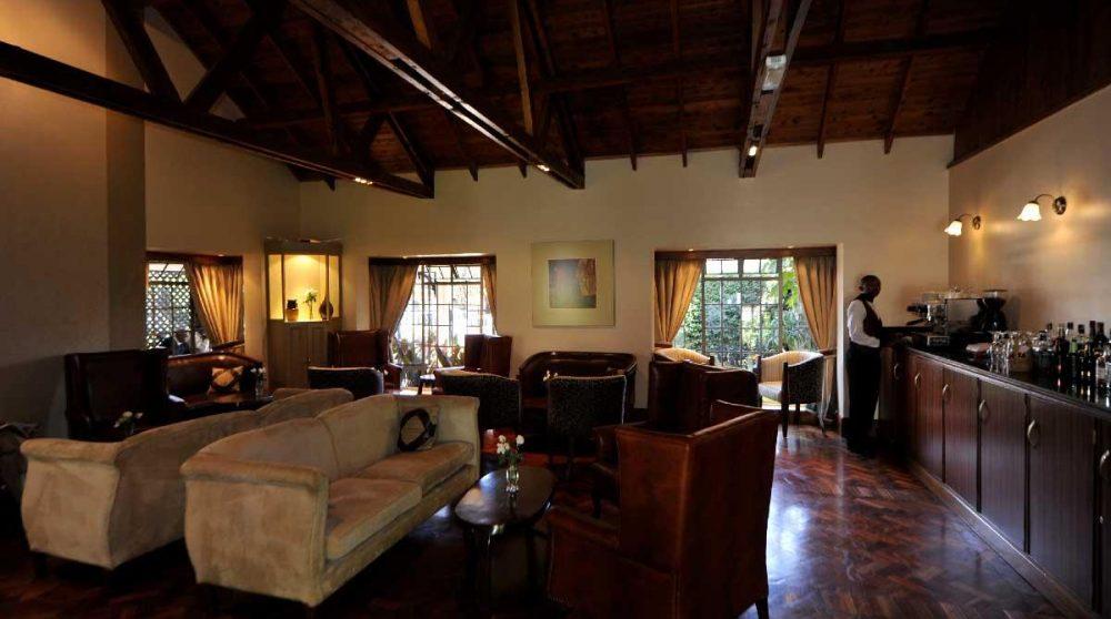 Le salon à Nairobi