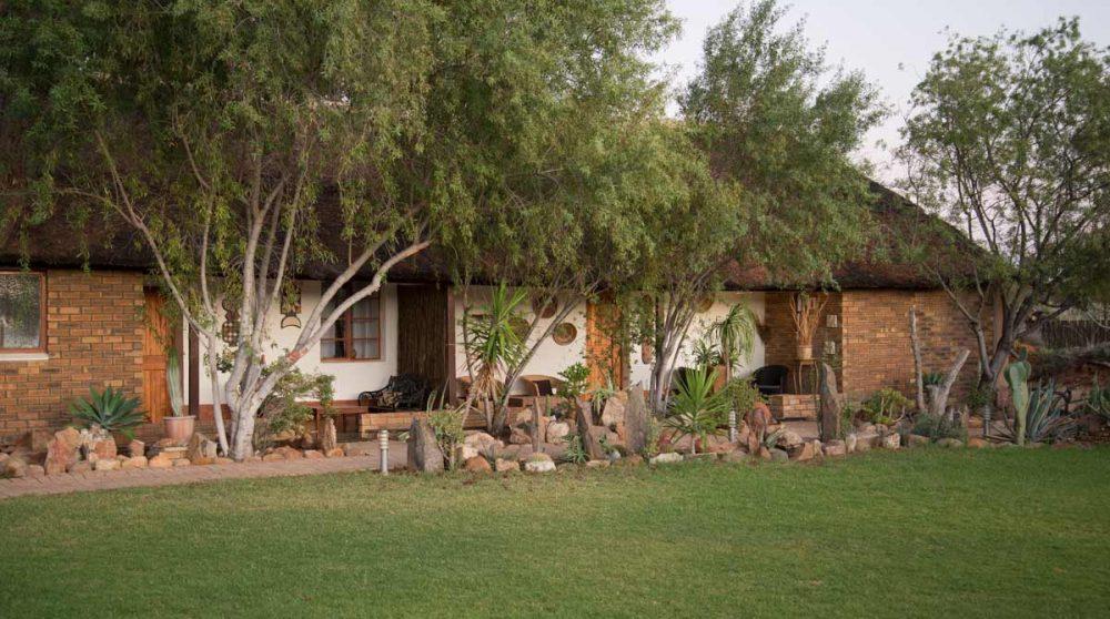 Une des Guest Houses en Afrique du Sud